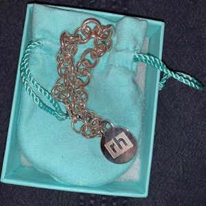 Brand new Tiffany & Co charm bracelet